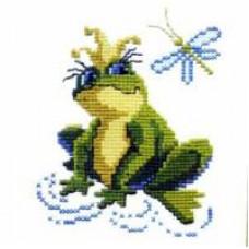 Набор для вышивания крестиком Чарівна мить Царевна-лягушка (203)