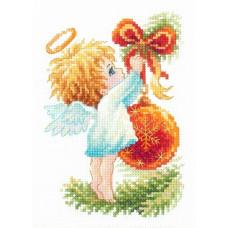 Набор для вышивания крестиком Чудесная игла Ангел Рождества (160-001)
