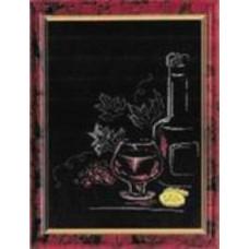 Набор для вышивания крестиком Чарівна мить Коньяк с лимоном (230)