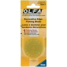 Сменные лезвия Зиг-Заг для дисковых ножей Olfa, 45 мм (PIB45-1)