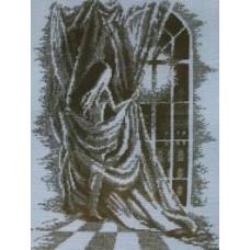 Набор для вышивания крестиком Чарівна мить Девушка (328)