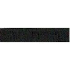 Шелковая лента для вышивания, черная, 7мм (7SR4)