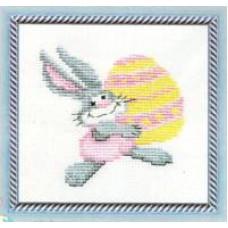 Набор для вышивания крестиком Чарівна мить Пасхальный заяц (274)