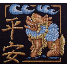 Набор для вышивания крестом Panna Защита дома (И-1685)