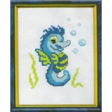 Набор для вышивания крестиком Чарівна мить Морской конёк (256)