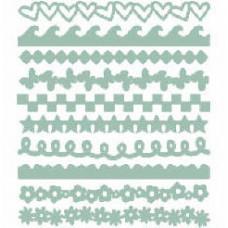 Фигурные полоски из картона Aqua (JTE30-3006)