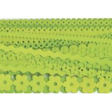 Фигурные полоски из картона Limeade (FRIL-1240)