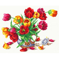 Букет из тюльпанов (40-30)*