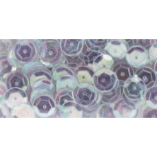 Пайетки Crystal Iridescent, Cupped Sequins 8mm 200/Pkg (100448)