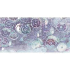 Пайетки Crystal Iridescent, Cupped Sequins 5mm 800/Pkg (100438)