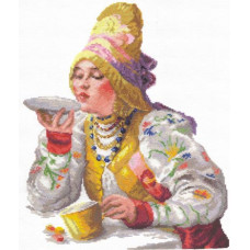 Боярышня за чаем (66-01)*