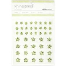 Стразы Цветы Mint, 6-10мм (SB748)