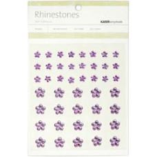 Стразы Цветы Lilac, 6-10мм (SB749)