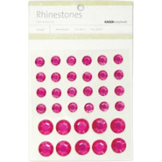 Стразы Hot Pink, 9-14мм (SB752)