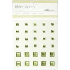 Стразы квадратные Mint, 6-10мм (SB769)