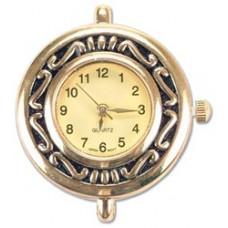 Часы для бисероплетения Serpentine Gold Round 26мм (1972-30)