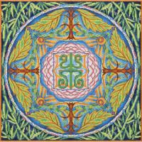 Набор для вышивания крестом Panna Мандала. Здоровье (СО-1856)