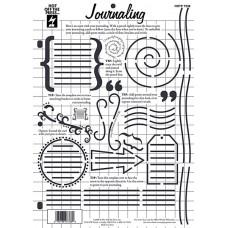 Трафарет Journaling (7338)