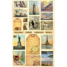 Коллаж Heartwarming Vintage Cuts Путешествия (CSHVC-1)