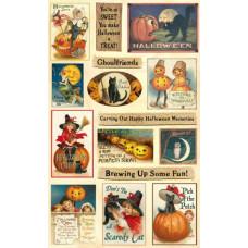 Коллаж Heartwarming Vintage Cuts Halloween (CSHVC-6)