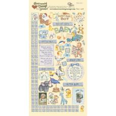 Наклейки Heartwarming Vintage Cardstock Stickers Малыш (CSHVS-901)