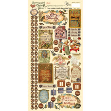 Наклейки Heartwarming Vintage Cardstock Stickers Семья (CSHVS-906)