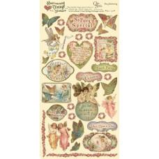 Наклейки Heartwarming Vintage Cardstock Stickers Феи (CSHVS-920)