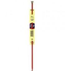Длинный крючок для тунисского (афганского) вязания, J-6мм (6212-J)