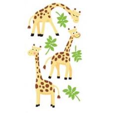 Наклейки с глиттером Жирафы (SP-LFB21)