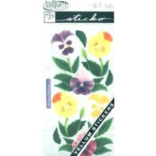 Наклейки из веллума Цветы (SPVM-32)