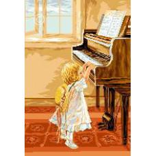 Маленькая пианистка (G578)