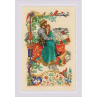 Набор для вышивания крестом Риолис Баллада о любви (1924)