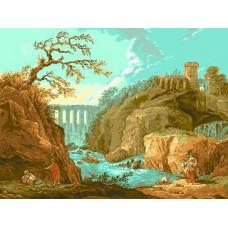 Набор для вышивки GOBLENSET Река Тиволи (G525)