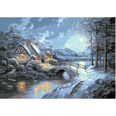 Набор для вышивания GOBLENSET Белая ночь (G751)