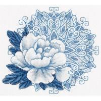 Набор для вышивания крестом Panna Дивный цветок (Ц-1957)