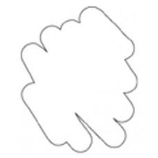 Маркер с бархатным эффектом Puffy Velvet Marker Белый (10200)