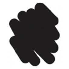 Маркер с бархатным эффектом Puffy Velvet Marker Черный (10301)