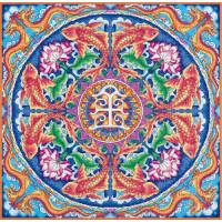 Набор для вышивания крестом Panna Мандала Богатство (СО-1968)