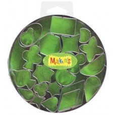 Набор форм для резки пластика Геометрические фигуры (37003)