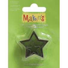 Набор форм для резки пластика Звезда (360-6)