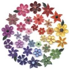Набор для квиллинга Quilled Creations Цветы (Q40-16)
