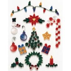 Набор для квиллинга Рождество (Q40-5)
