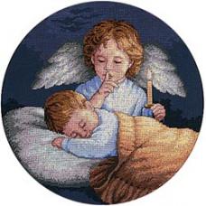 Набор для вышивания крестом Dimensions Оберегающий ангелочек (3873)