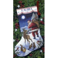 Рождественский сапожок Приход Санты (8683)
