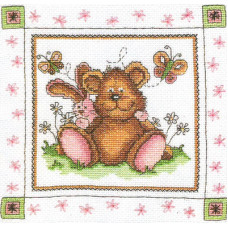 Набор для вышивания крестиком Чарівна мить Плюшевые друзья (А-029)