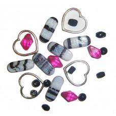 Набор бусин и бисера Dress It Up Special Selection Beads, Style #21, 23 гр. (2636)