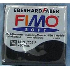 Полимерная глина Fimo Soft Polymer Clay, Black (8020-09)