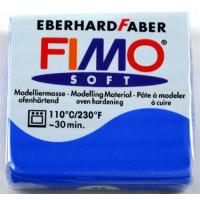 Полимерная глина Fimo Soft, Brilliant Blue (8020-33)
