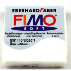 Полимерная глина Fimo Effect Glitter White (8020-052)