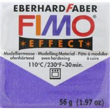 Полимерная глина Fimo Effect Glitter Lilac (8020-602)